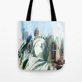 New York - vektor Tote Bag