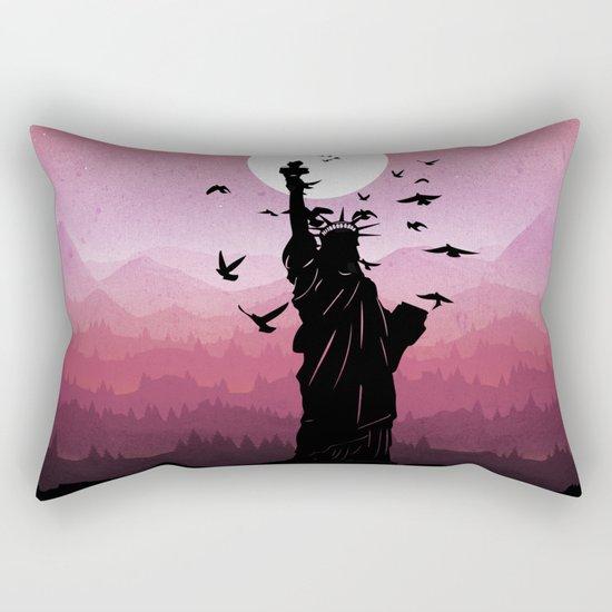 Liberty Enlightening the World Rectangular Pillow