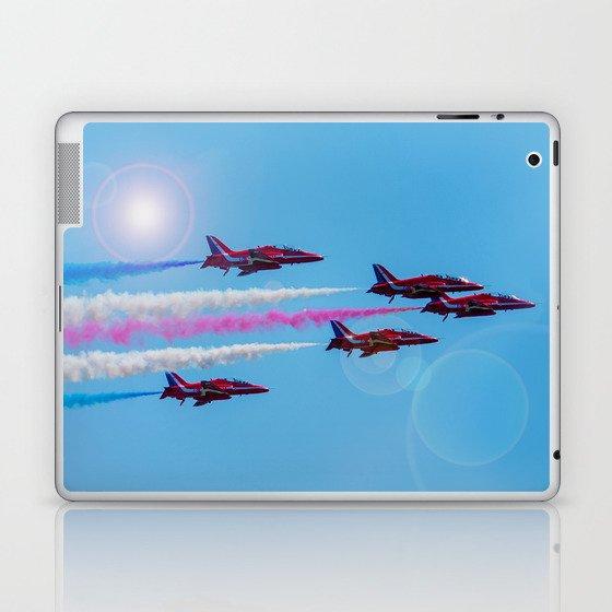 ARROWS IN FLIGHT Laptop & iPad Skin