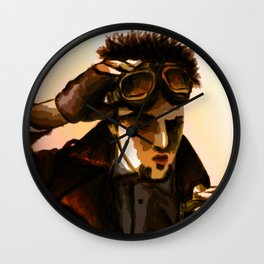 The Time Traveler Wall Clock