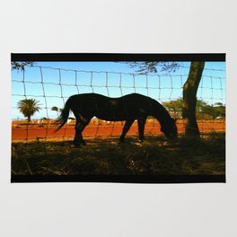 Horse by the Sea Rug