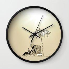 UNDER THE SUN Wall Clock