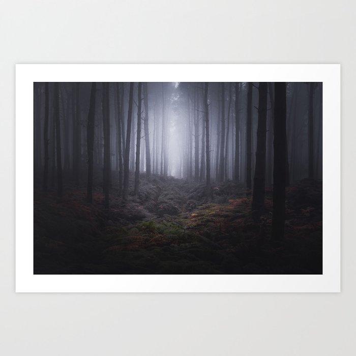 Fog of Wychwood Art Print