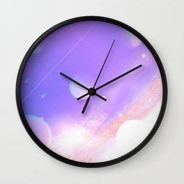 Parallel planets Wall Clock