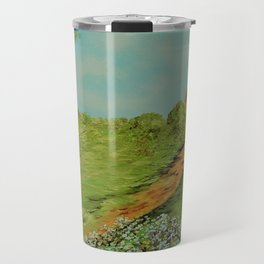 Cotton on a Cloudy Day Travel Mug