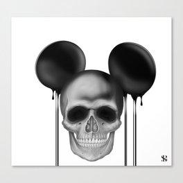 Mick3y Canvas Print