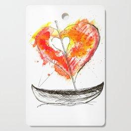 love boat Cutting Board