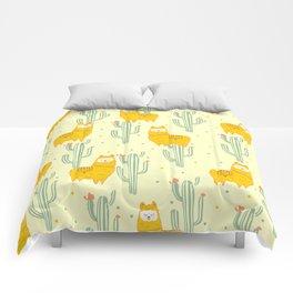Alpaca summer pattern Comforters