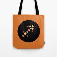 sagittarius Tote Bags featuring Sagittarius by rusanovska