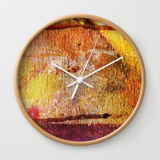 Refined by Fire Wall Clock