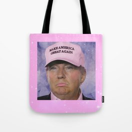 Make America Great Again - Kawaii Trump Tote Bag