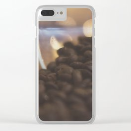 Coffee. Clear iPhone Case