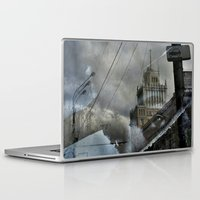 moscow Laptop & iPad Skins featuring Moscow Reflected by Brandon Beacon Hill