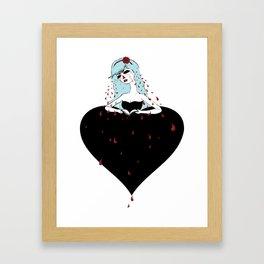 humiliated spade Framed Art Print