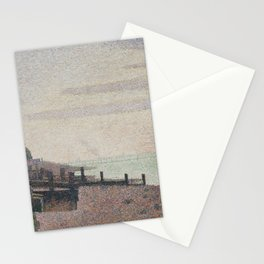 Evening, Honfleur Stationery Cards