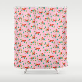 Tiger Hunt Shower Curtain