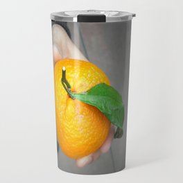california orange Travel Mug
