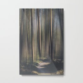 A Forest Abstract II Metal Print