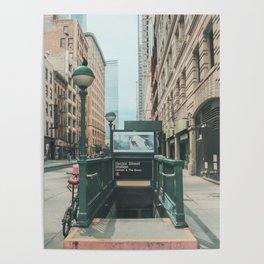 New York City Subway 2 Poster