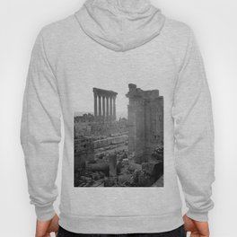 Temples of Bacchus & Jupiter at Sunset Hoody