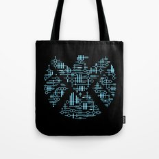 Alien Agents Tote Bag