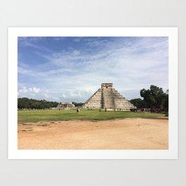 Chichén Itzá Art Print