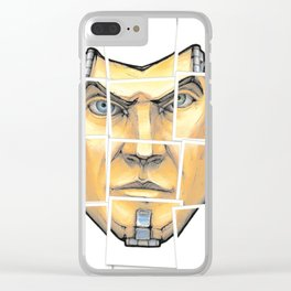 Borderlands - Handome Jack Clear iPhone Case