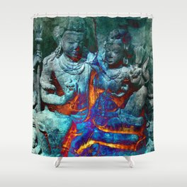 Spontaneous Combustion Shower Curtain