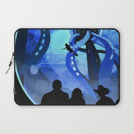 Europa Space Travel Retro Art Laptop Sleeve