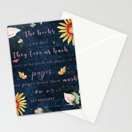 Books We Love Stationery Cards