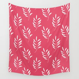 HOT PINK FLORAL Wall Tapestry
