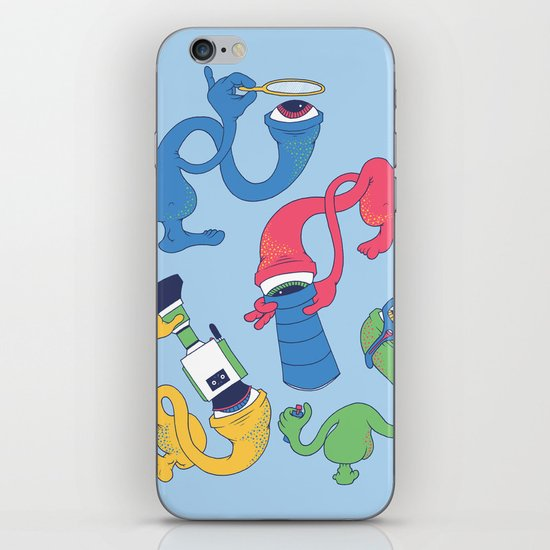 Eye Spy iPhone & iPod Skin