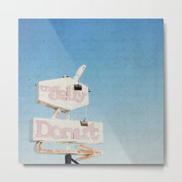 the jelly donut Metal Print