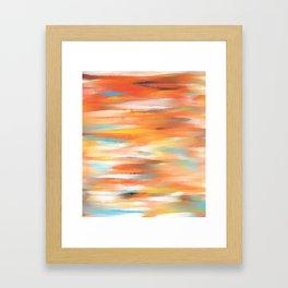 Wild Tiger Framed Art Print