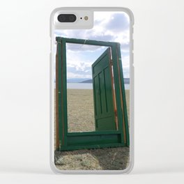 Doorway to Everywhere Clear iPhone Case