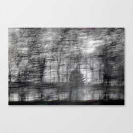 Full Motion Forest Canvas Print