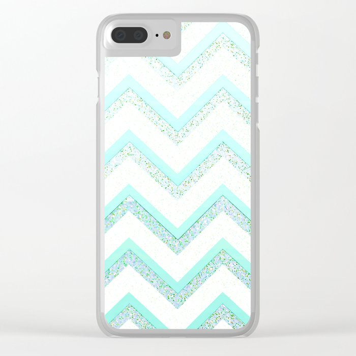 NUDE MINT  Clear iPhone Case