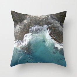 Grey River Throw Pillow
