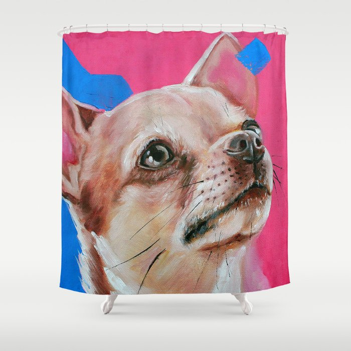 Chihuahua Shower Curtain By Cec