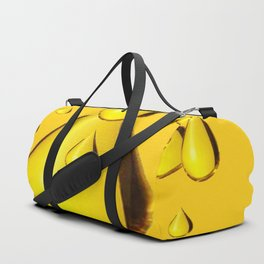 RICH GOLDEN HONEY DRIPPING ART Duffle Bag