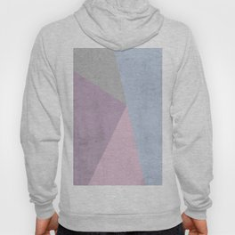 Cold Tones Geometry Hoody