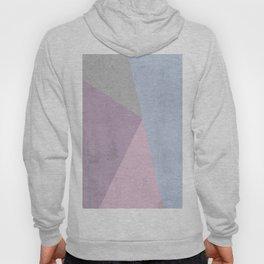 Cold Tones Geometry Hoody