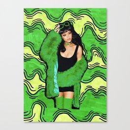 Badgalriri slime szn Canvas Print