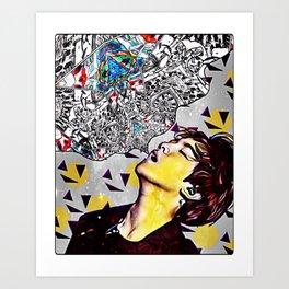 baekhyun dreams Art Print