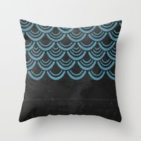 scales Throw Pillows featuring Scales  by Last Call