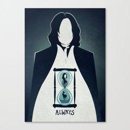Snape Tribute.  Canvas Print