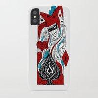 joker iPhone & iPod Cases featuring JOKER by taniavisual