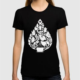 Khmer Coffee Inverted T-shirt