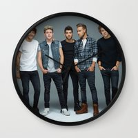one direction Wall Clocks featuring One Direction by behindthenoise