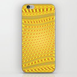 Moved pattern iPhone Skin